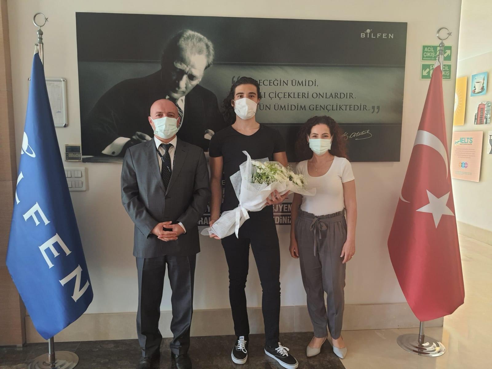 YKS 2021 Antalya  1.si Bilfen  Lisesinden !